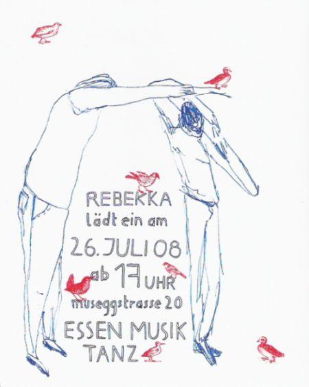 Rebekka lädt ein