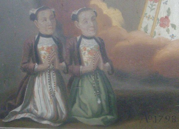 ex voto zwei Faruen 1798